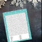 Winter Wordsearch Printable