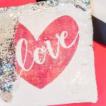 how to sublimate sequin pillow