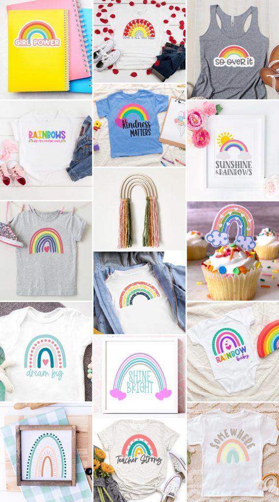 rainbow svg projects