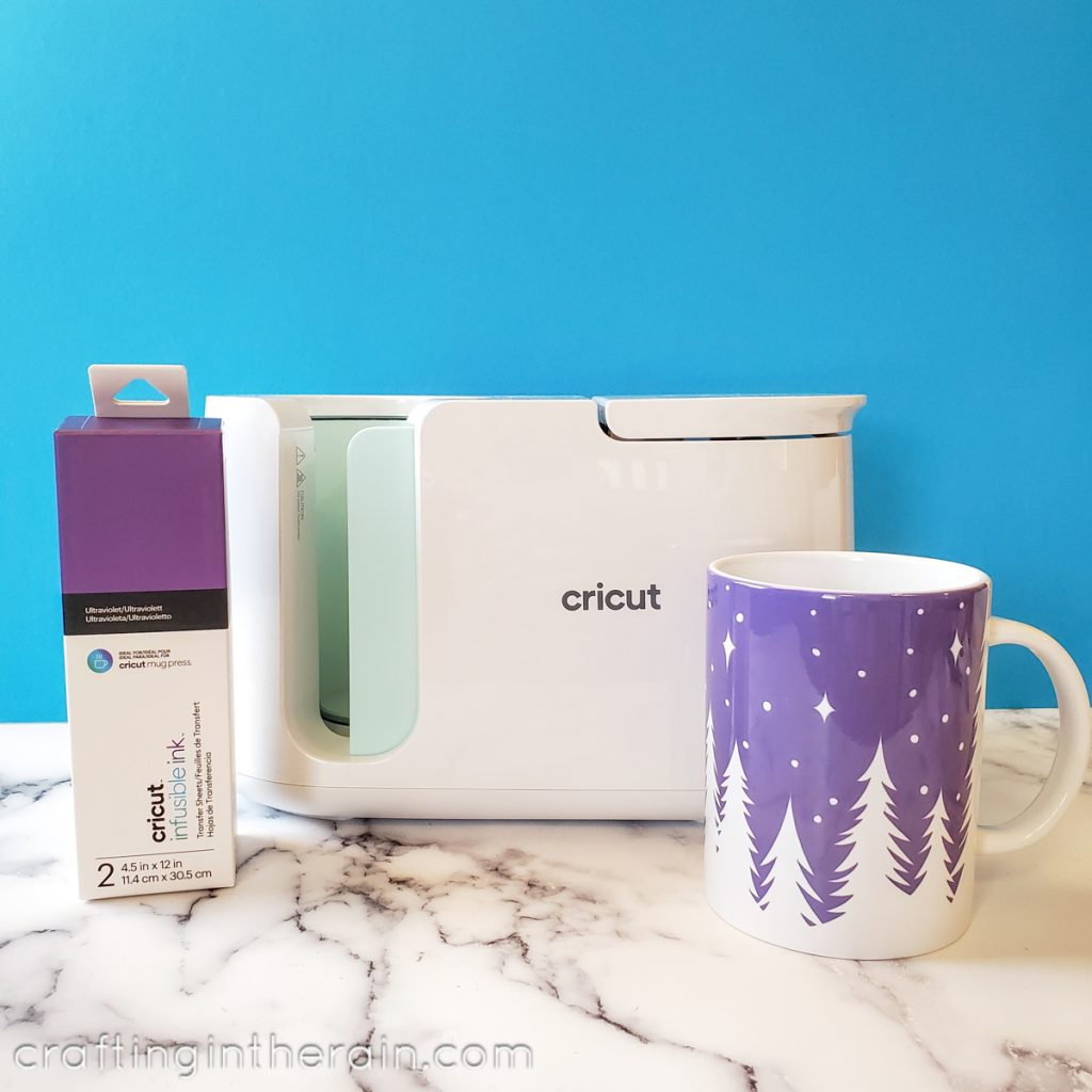 cricut forest mug
