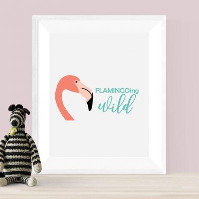 Flamingoing Wild