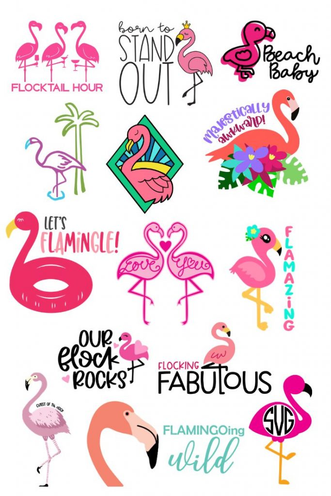free flamingo svg