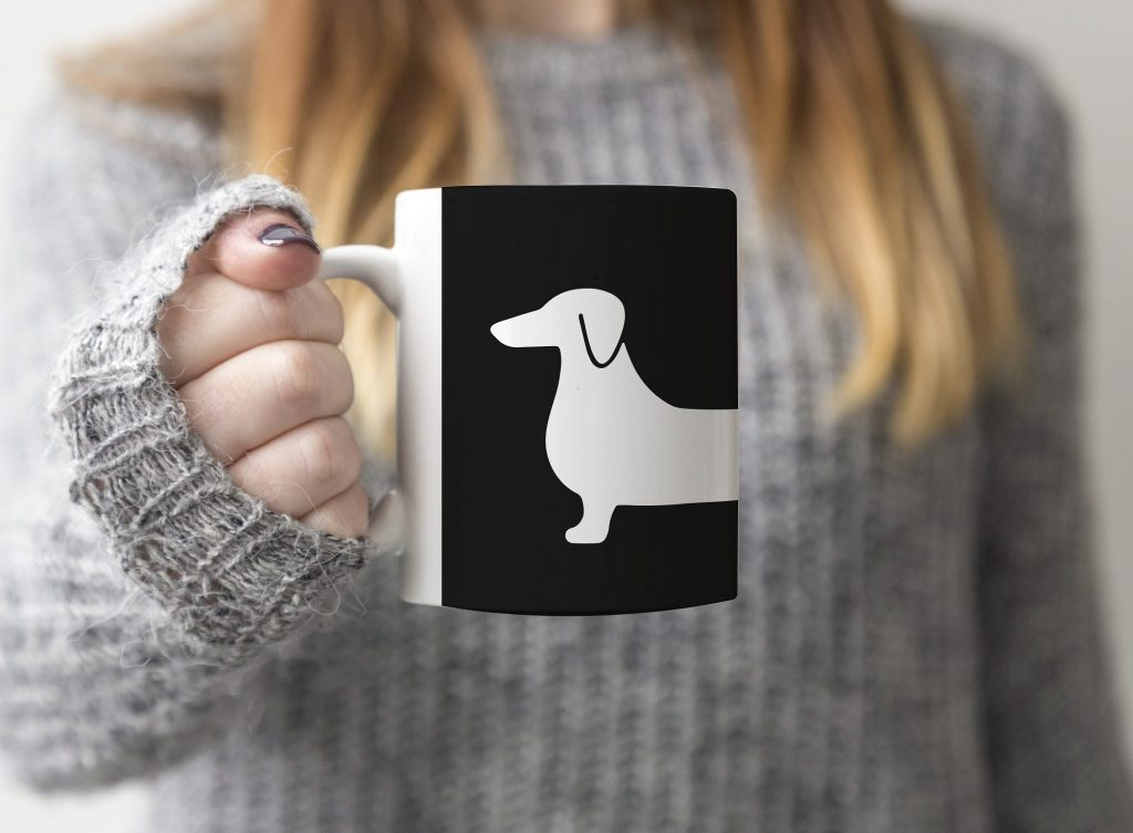 dog mug wrap cricut