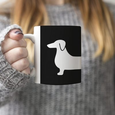 Wiener Dog Mug Design