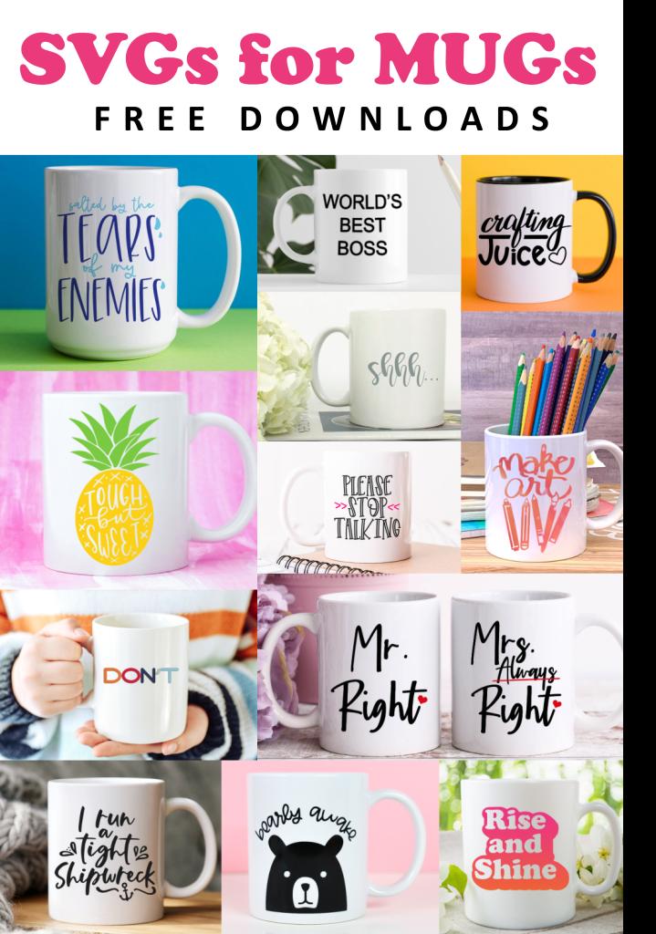 free svgs to put on mugs