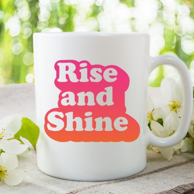 Retro Rise and Shine SVG