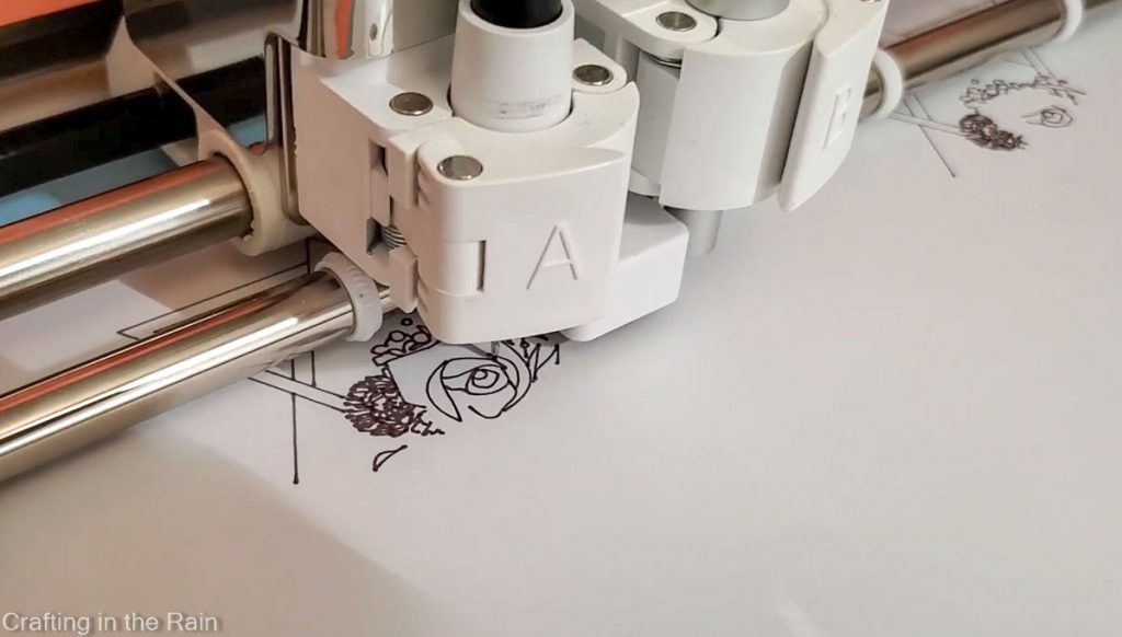 cricut draw with infusible ink marker